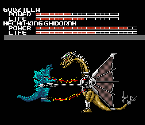 Mecha King Ghidorah 2